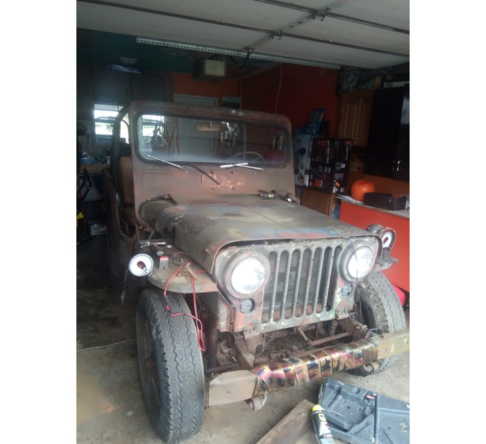 1951 Jeep Willys M38 24v