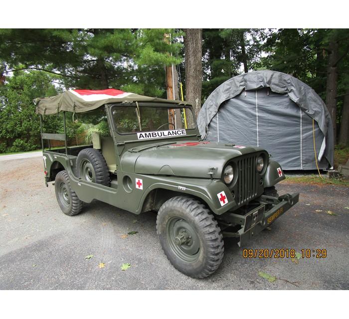 1954 Willys - USMC Willys Jeep - USMC Ambulance