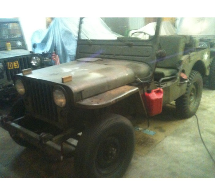 1950 Willys M38 G740 Jeep