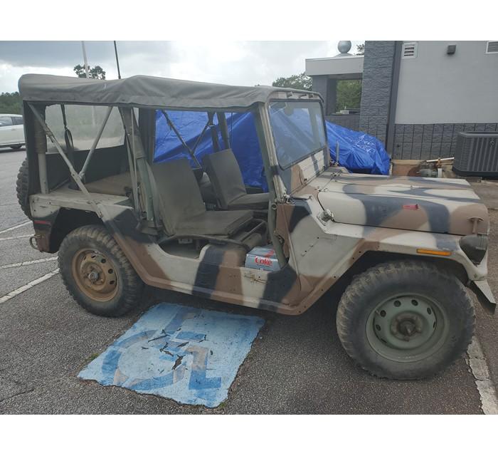 M151A2 Rust Free Uncut