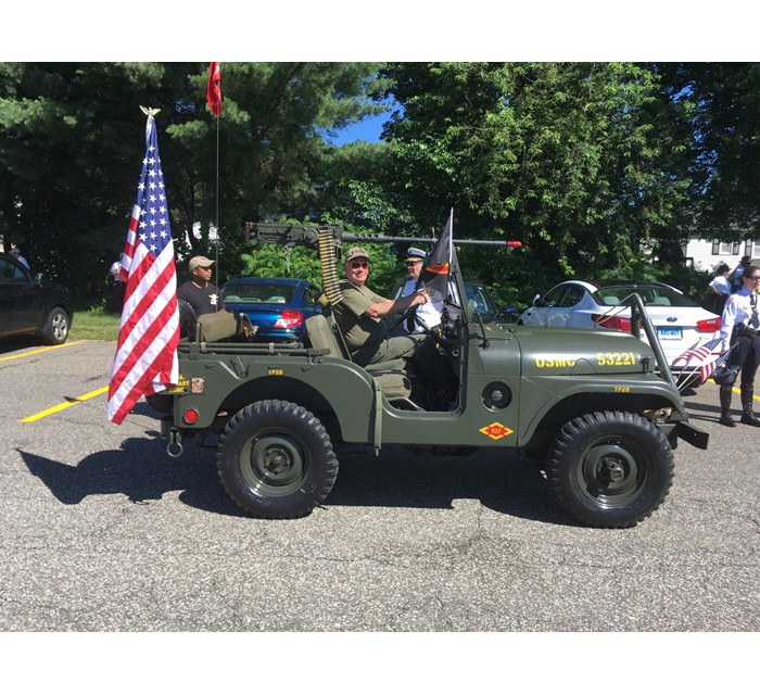 1953 M38A1 with M100 Trailer - Collector's Dream - USMC