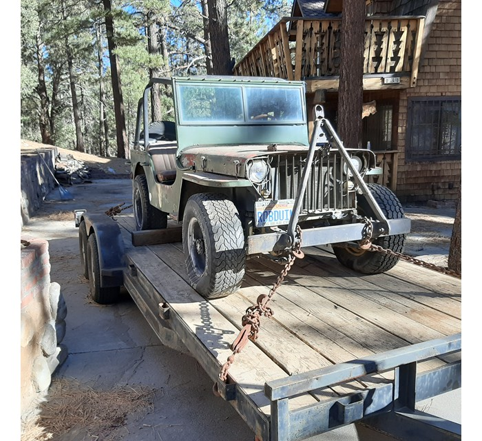 1941 MB Willy Slat Grille Jeep
