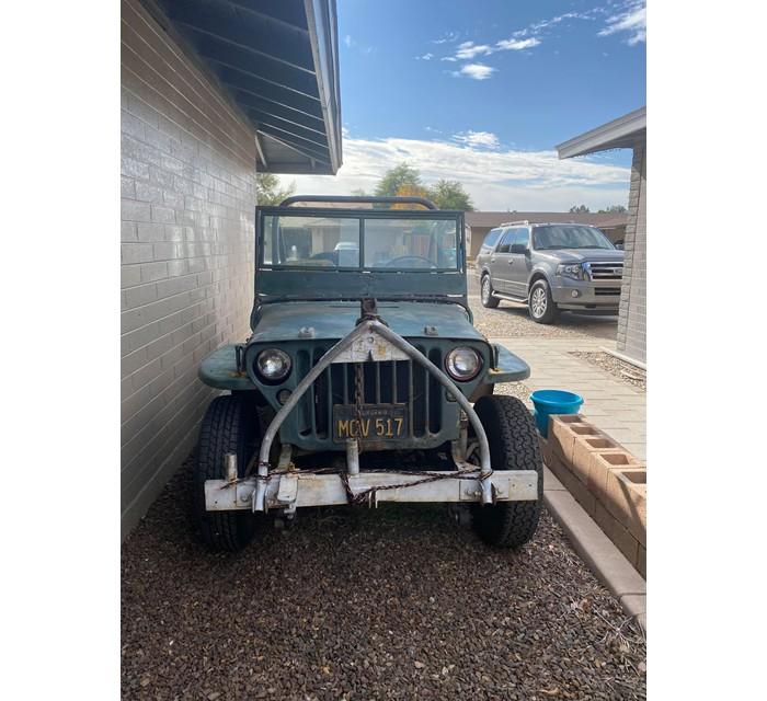 1943 Jeep Willy JPMB