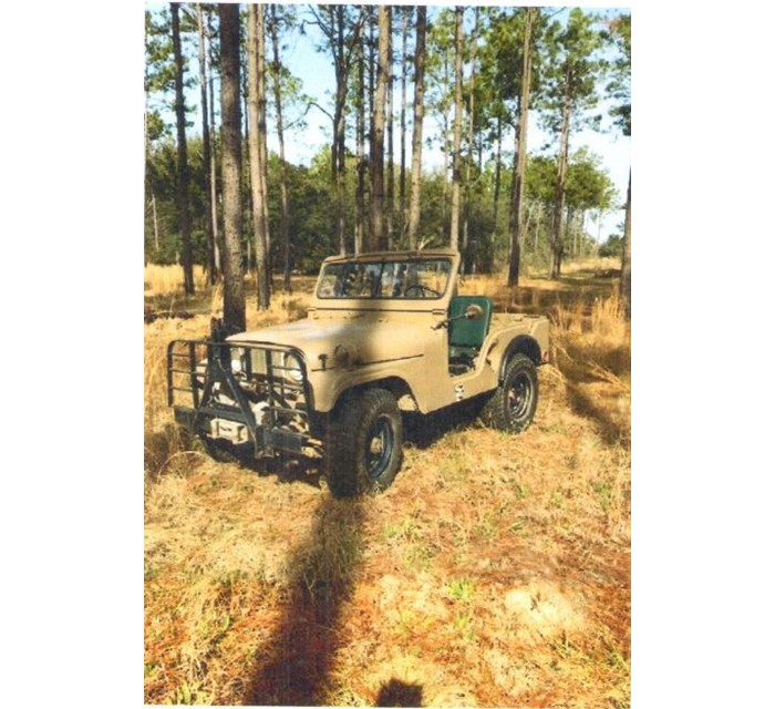 1952 Willis 1/4 ton Military Jeep M38 - A1 Serial No. 21632 Motor MD - 23001